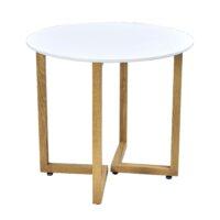 Стол обеденный OTLT-A14 MK-7015-WT Мосс 70х70х72 см Белый 1 шт. в 2 кор.