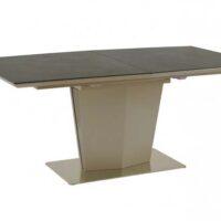 Стол обеденный MK-6000-DG керамический раскладной 90х160(200)х76 см Графит 1 шт. в 3 кор.