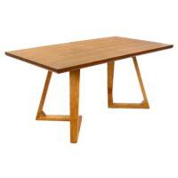 Стол T1692 Ларедо MK-5517-OK обеденный раскладной 90х160(220)х76 см Дуб 1 шт. в 2 кор.
