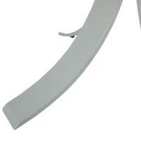 Стол обеденный MC-1876DT MK-7514-GL стеклянный круглый 130х130х75 см Прозрачный 1 шт. в 2 кор.
